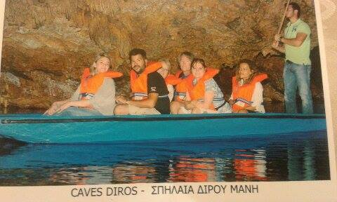 Day Tour to Villages of Mani & Diros Caves